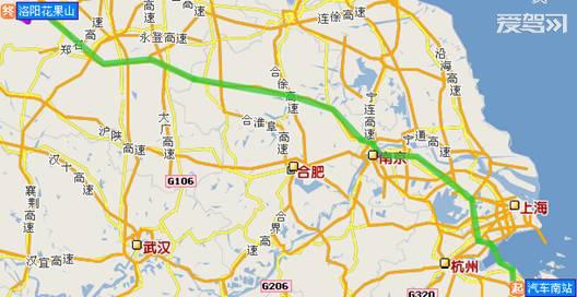 宁波自驾游洛阳花果山线路