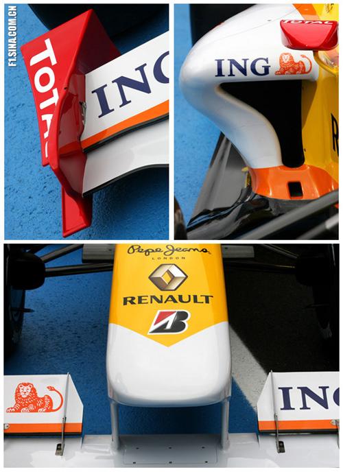 2009款f1赛车 雷诺r29高清图片